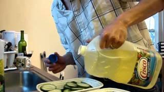 Adding Seasonings To 'german' Cucumber Salad