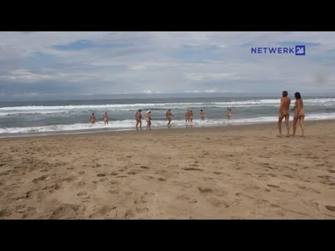 beach People nudist sex having on