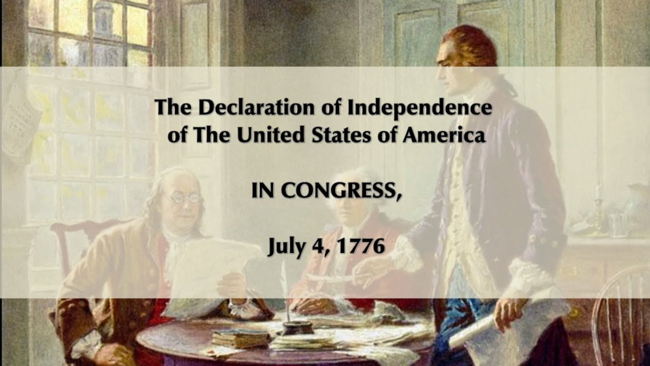 an analysis of the signing of the declaration of independence in 1776 A brief chronicle of events leading up to the official adoption of the declaration of independence on july 4, 1776 a brief chronicle of events leading up to the official adoption of the declaration of independence on july 4 sign the clearly printed or engrossed version of the declaration.