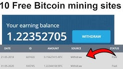 10 new free bitcoin mining websites 2020 | without investment+payment proof