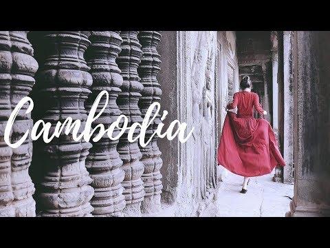 我在柬埔寨吳哥窟🇰🇭Angkor Wat Cambodia ft.碧兒泉