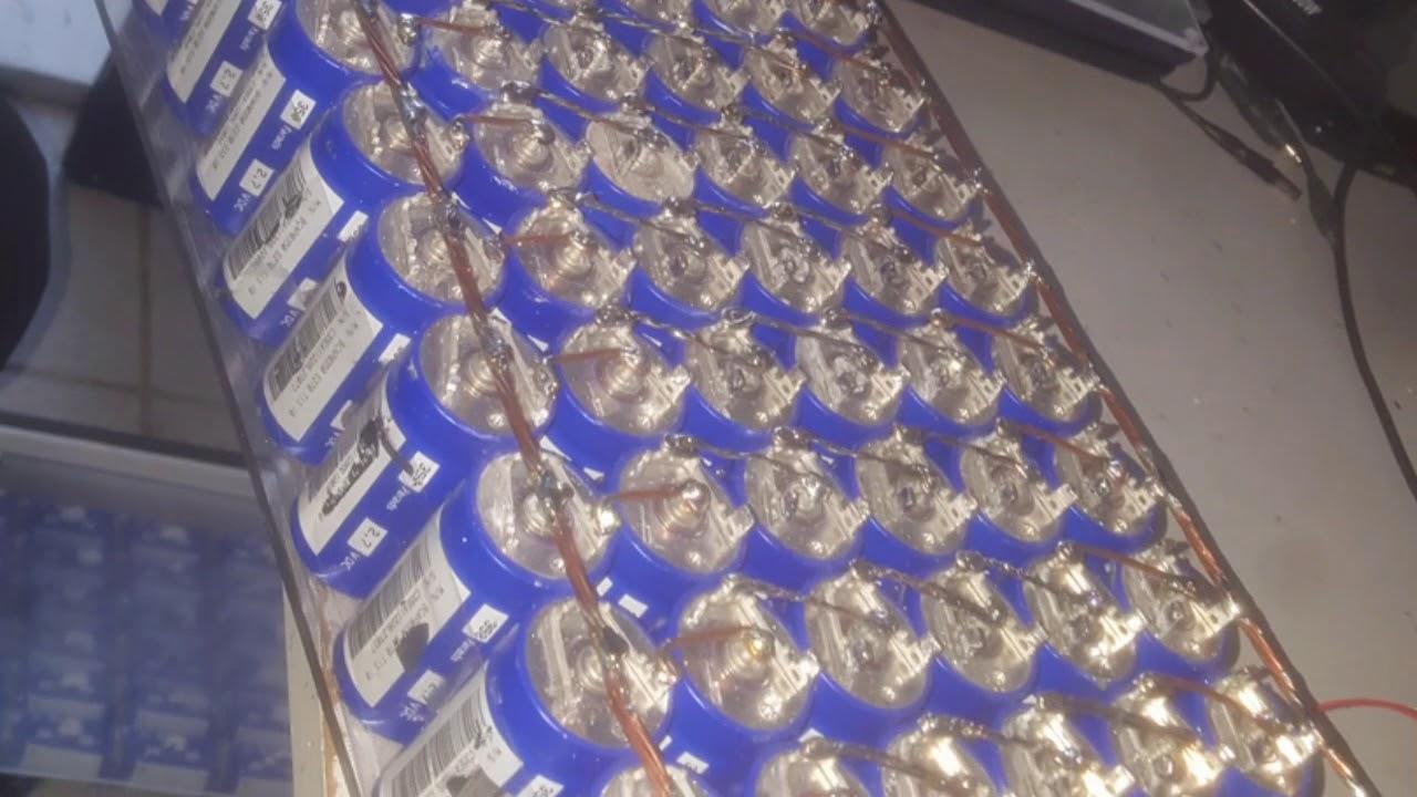 Pack ultra capacitor Maxwell boots Cap 2 7 vts 350f cada Pack com 60  capacitores