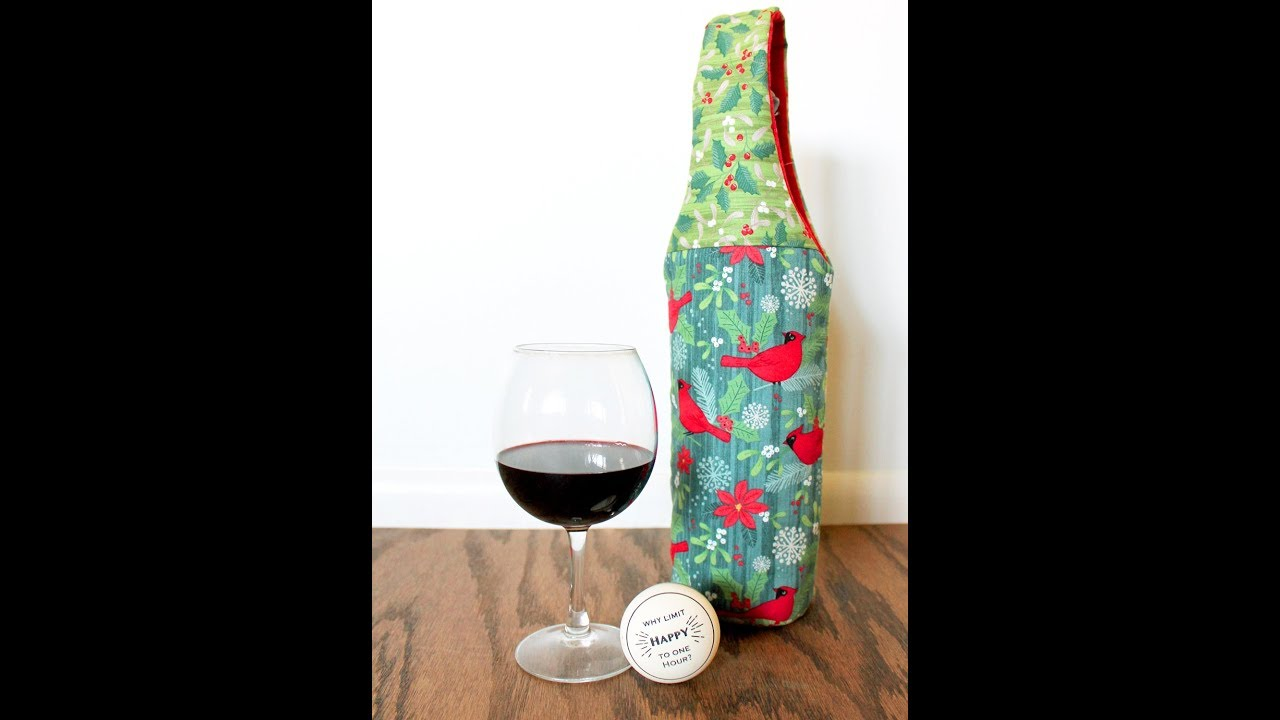 Christmas 3 Bottle Wine Carrier with Handles 3 Bottle Wine Carrier Gift Box