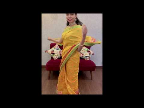 Pre-pleated Readymade One Minute Saree By Isadora Life