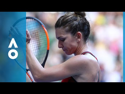 Simona Halep v Angelique Kerber match highlights (SF) | Australian Open 2018