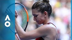 Simona Halep v Angelique Kerber match highlights (SF) | Australian Open 2018
