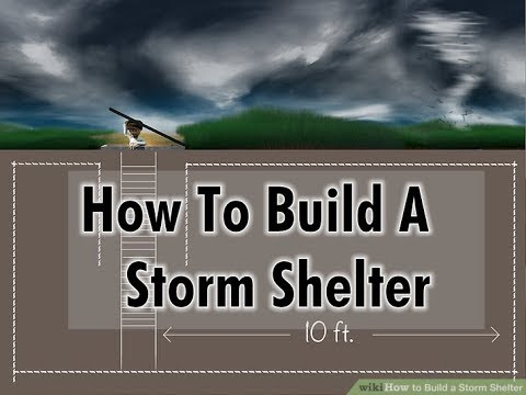 Storm Cellar -  How To Build A Storm Shelter