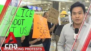 Hong Kong protests: Security beefed up at international airport; no disruptions so far