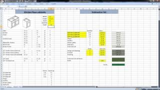 list & door list capabilities of Cabinet Solutions design software