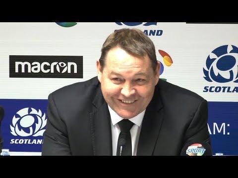 Scotland v New Zealand - Steven Hansen & Kieran Read Full Post Match Press Conference