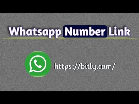 How To Create Whatsapp Number Link !!Ihm Tech In!!