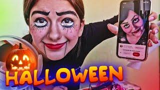 💥Хэллоуин🍘HALLOWEEN  Halloween Trick or Treat Contest and Makeup