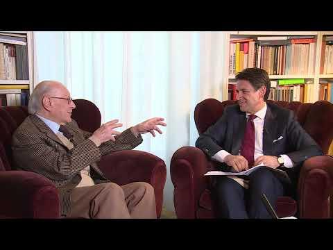 Dialogo del Presidente Conte con il Professore Emanuele Severino