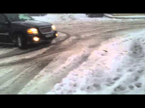 Gmc Envoy Drift In Snow