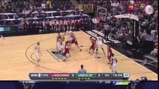 Michigan State Set Play Box Double Turnout Tom Izzo