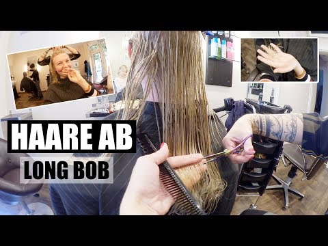 17 cm Haare abschneiden | Long Bob | Hellblond | VORHER/NACHHER | Isabeau