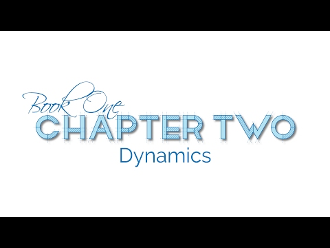 Musical Dynamics: pp, p, mp, mf, f, ff, cresc. and dim.
