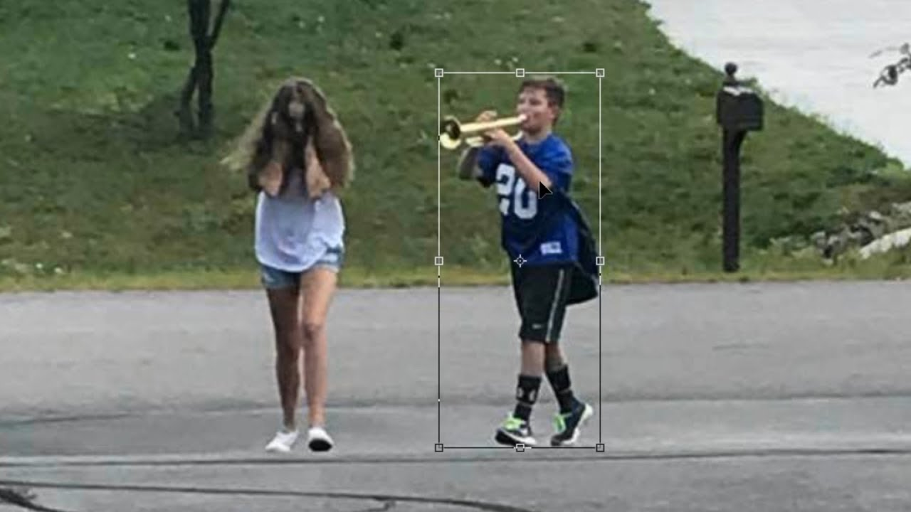 Girl and trumpet boy meme