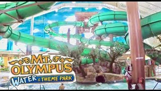 Mt. Olympus Indoor Water Park And Theme Park Wisconsin Dells 2016