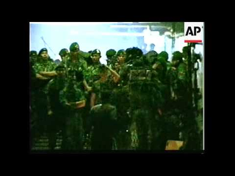 EAST TIMOR: INDONESIAN TROOPS PULLOUT LATEST