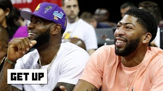 LeBron-AD, Kawhi-Paul George and other duos are great for the NBA - Jalen Rose | Get Up