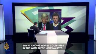 Inside Story - Journalism on trial in Egypt