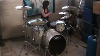 Download Video Lindsey Raye Ward - Lady Gaga - Pokerface (Drum Cover) MP3 3GP MP4