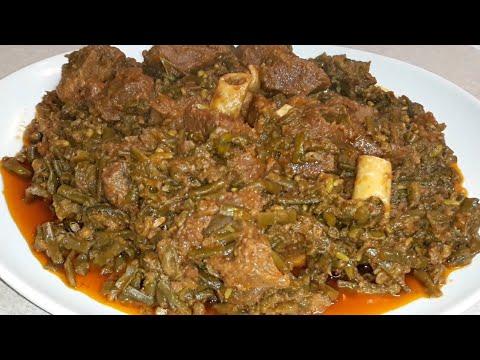 Download Phaliya ghost/goat meat with green beans/faliya ghost/easy cooking overseas