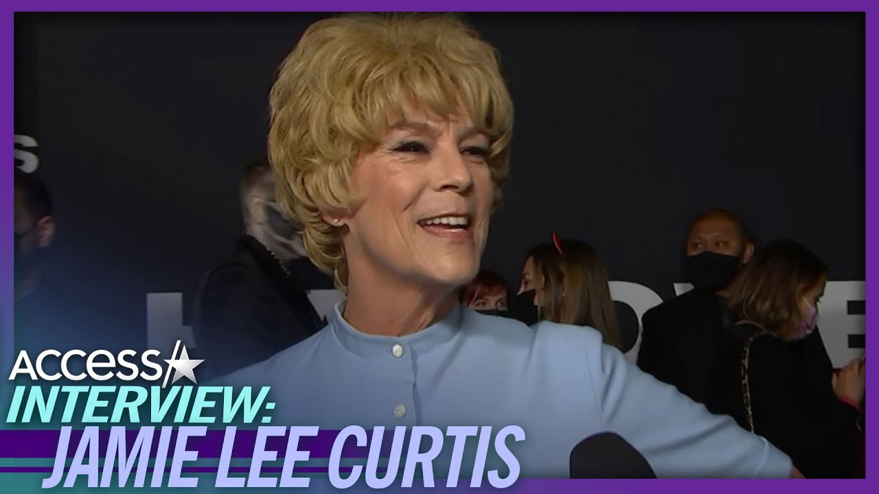 Jamie Lee Curtis dressed as mom Janet Leigh in 'Psycho' for ...