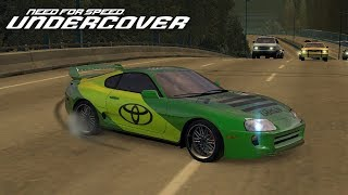 Need for Speed Undercover Тюнинг Toyota Supra