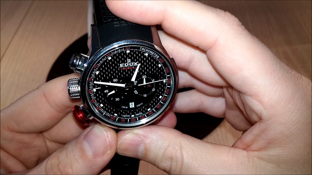 Edox Chronorally 10302 Watch Review - YouTube 8a99a81fa46