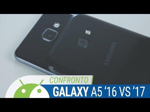 Samsung Galaxy A5 2017 vs A5 2016 confronto ITA da TuttoAndroid