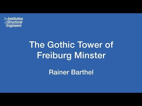 James Sutherland History Lecture 2016: The Gothic Tower of Freiburg Minster