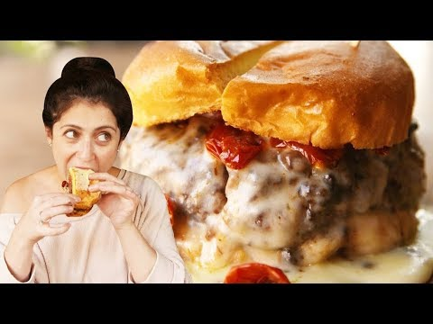NYC's 5 Best Burgers EVER | Delish Burger Tour