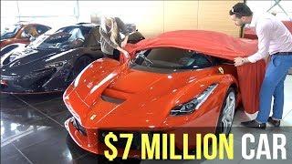 Unwrapping the La Ferrari Aperta!!!