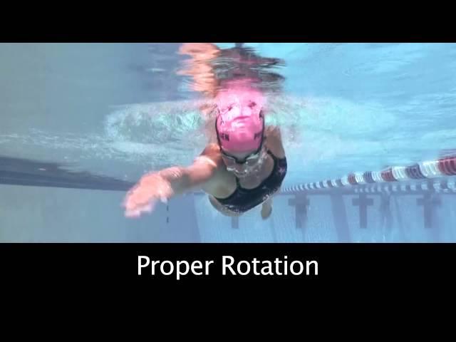 Triathlon Swim Training: How to achieve better Rotation in Freestyle
