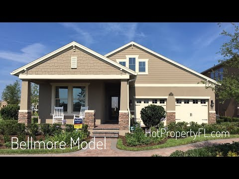 Bellmore Model at Waterleigh | New Homes Winter Garden FL | DR Horton