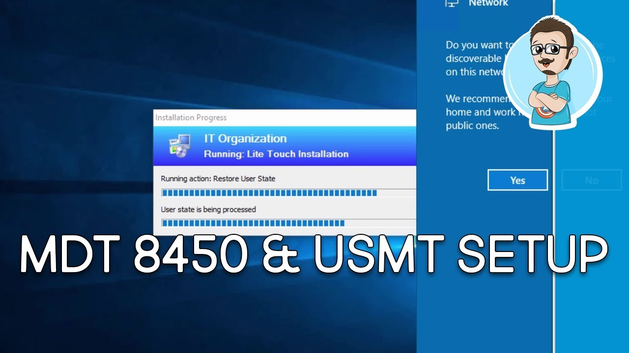 MDT USMT Task Sequence Configuration | Windows 10 1709 Deployment