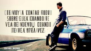 Gambar cover See You Again Letra en Español   Tributo a Paul Walker