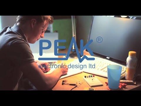 Peak Electronic Design Ltd | www.peakelec.co.uk | 01298 70012