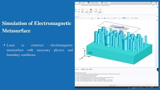 Simulation of Metasurface Unit-cell | COMSOL Multiphysics