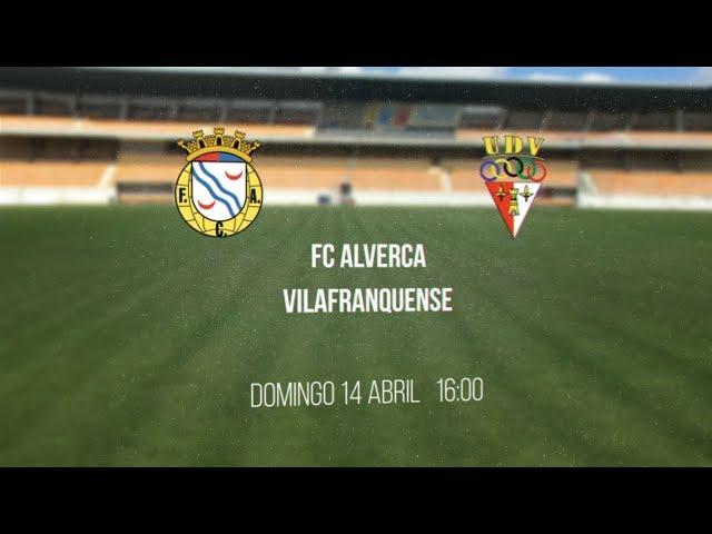 FC Alverca vs UD Vilafranquense