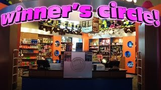 PRIZE AREA at Dave and Buster's in Orlando, Florida
