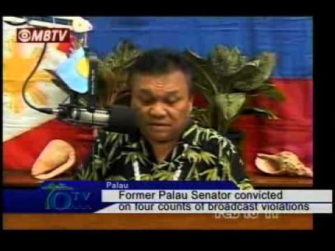 Former Palau Senator Convicted On Four Counts Of Broadcast Violations