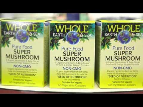 Whole Earth & Sea Super Mushroom