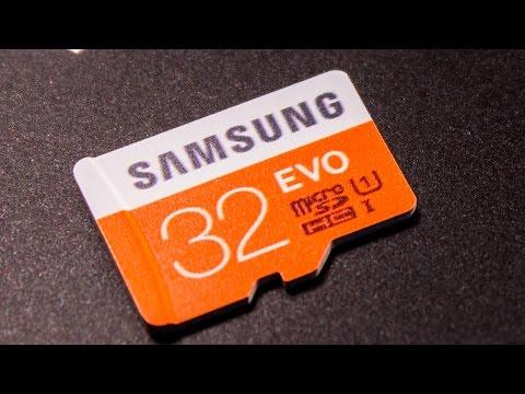 Карта памяти MicroSD (10 Class 32GB) от SAMSUNG EVO - MicroSD флешка с Алиэкспресс!
