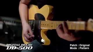 BOSS DD-500 Digital Delay Sound Preview