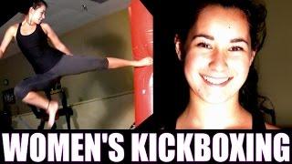 Women's Kickboxing Motivation