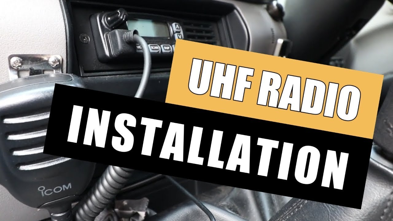 How To Install A Uhf Radio Antenna Youtube Subaru Brat Wiring Diagram