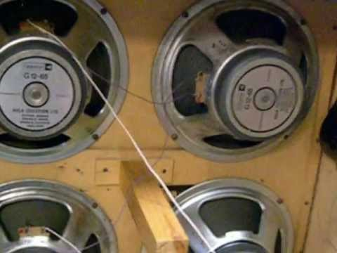 Marshall 4x12 Cabinet Wired Improperlywmv  YouTube